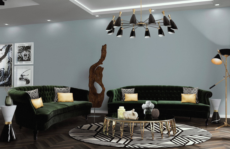 modernes wohnzimmer, klassisch modern, moderne möbel