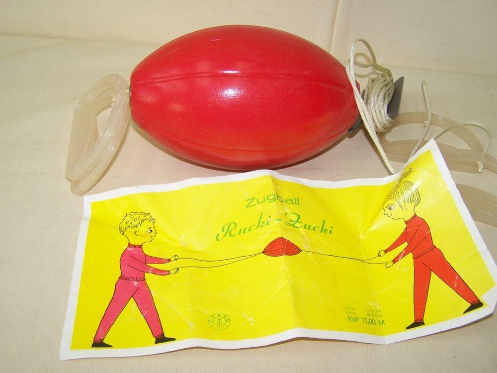 original DDR Zugball von PLAHO 70er Jahre