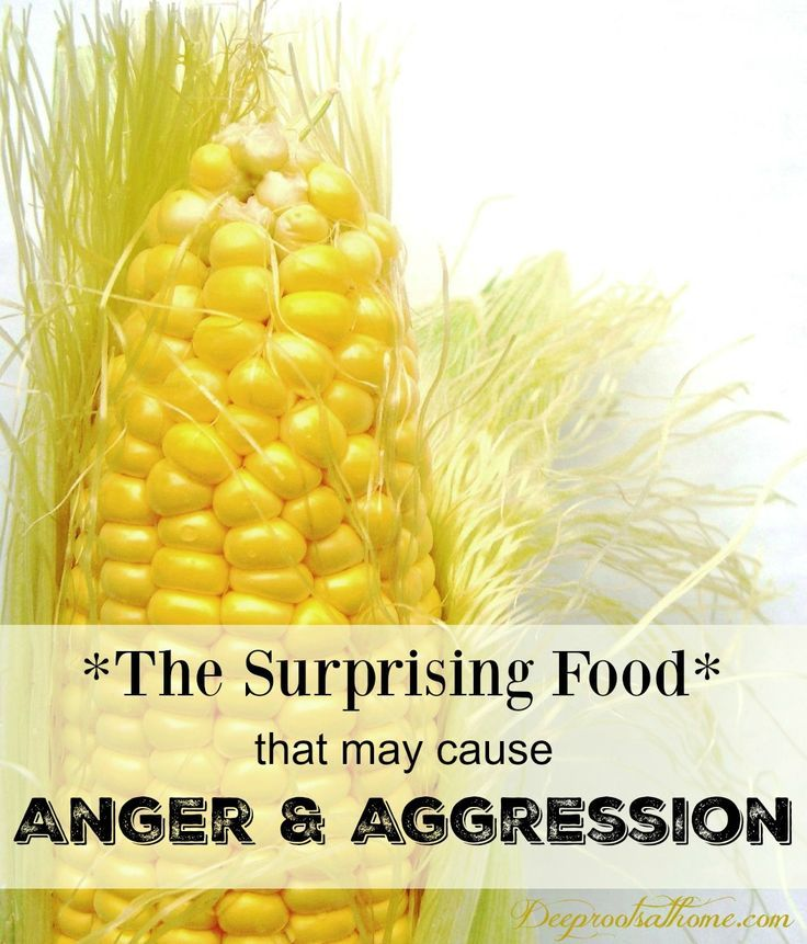 The Surprising Food That May Cause Anger & Aggression