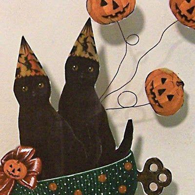 Shabby Chic Halloween Decorations  Printables Rhonda\u0027s Originals - halloween decoration printables