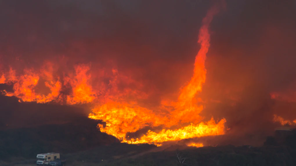 These Photos Of The California Wildfires Show How Serious