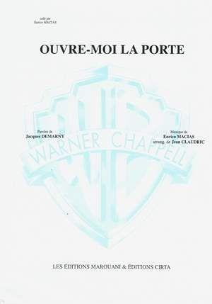 Ouvre Moi La Porte Enrico Macias Partitions De Chansons Accords De Guitare