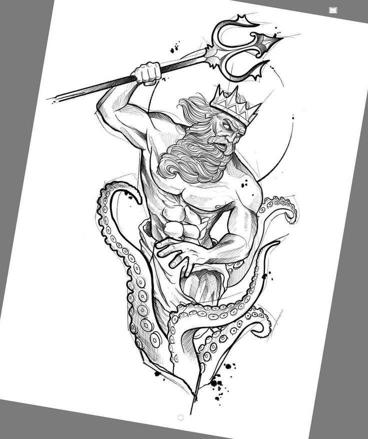Great design! Drawing created by Brazilian artist Felipe (phil.tattoo) from Rio   - tattoo - #artist
