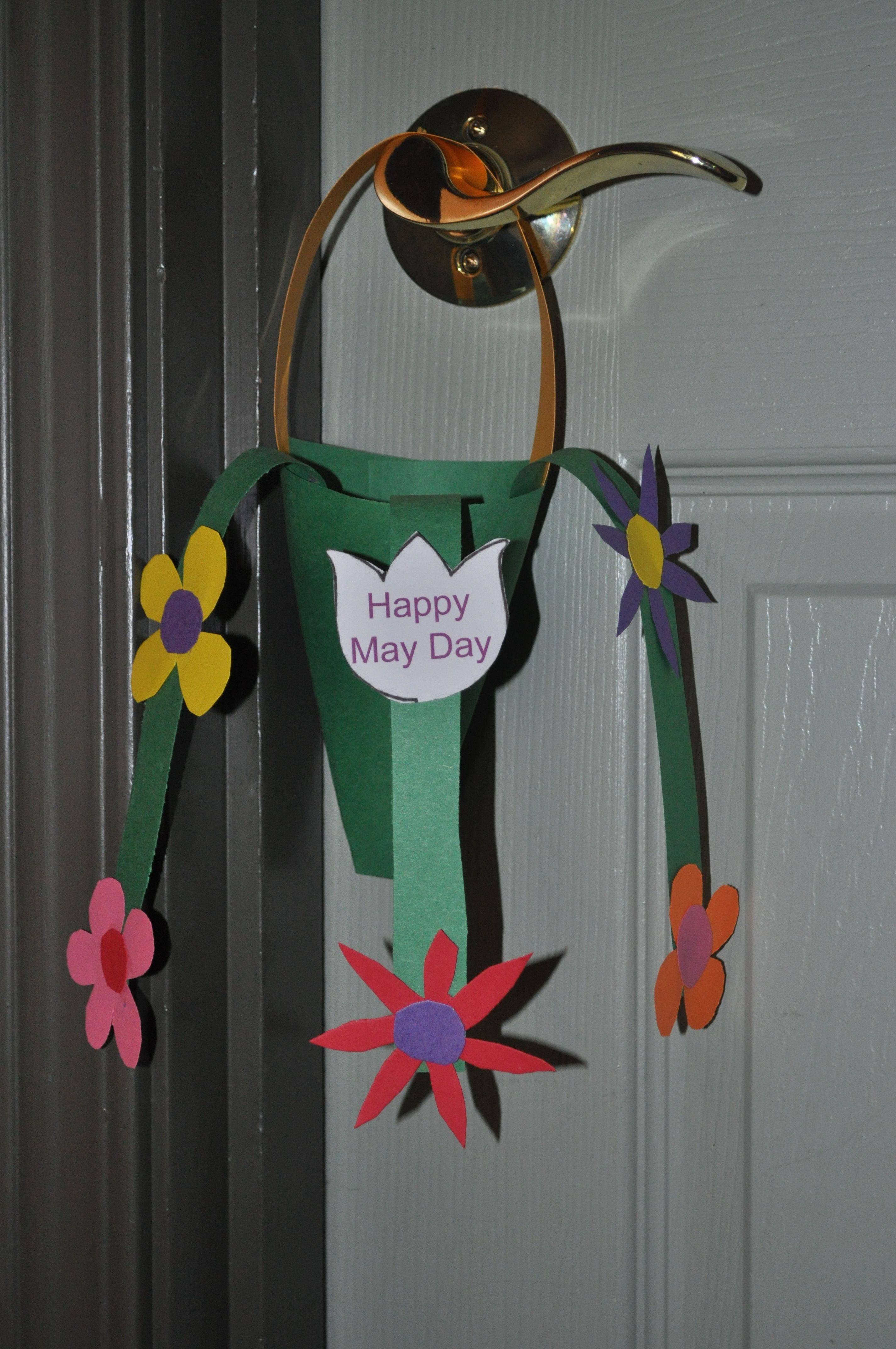 May Day Basket Idea Great For Kids May Day Pinterest May