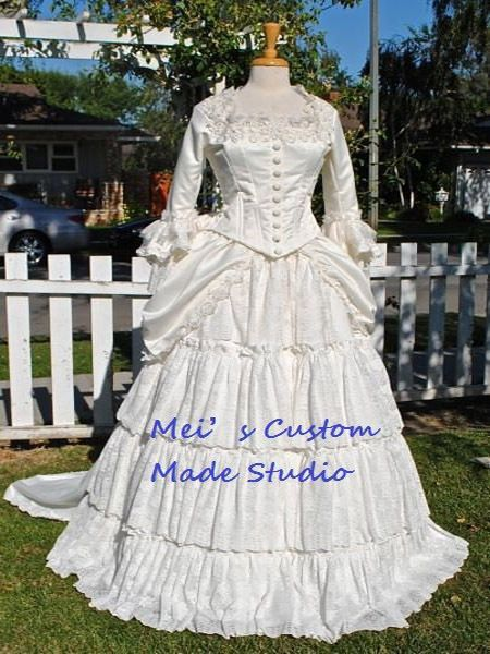 Click to Buy << Custom Made 18th century Victorian Bustle ...