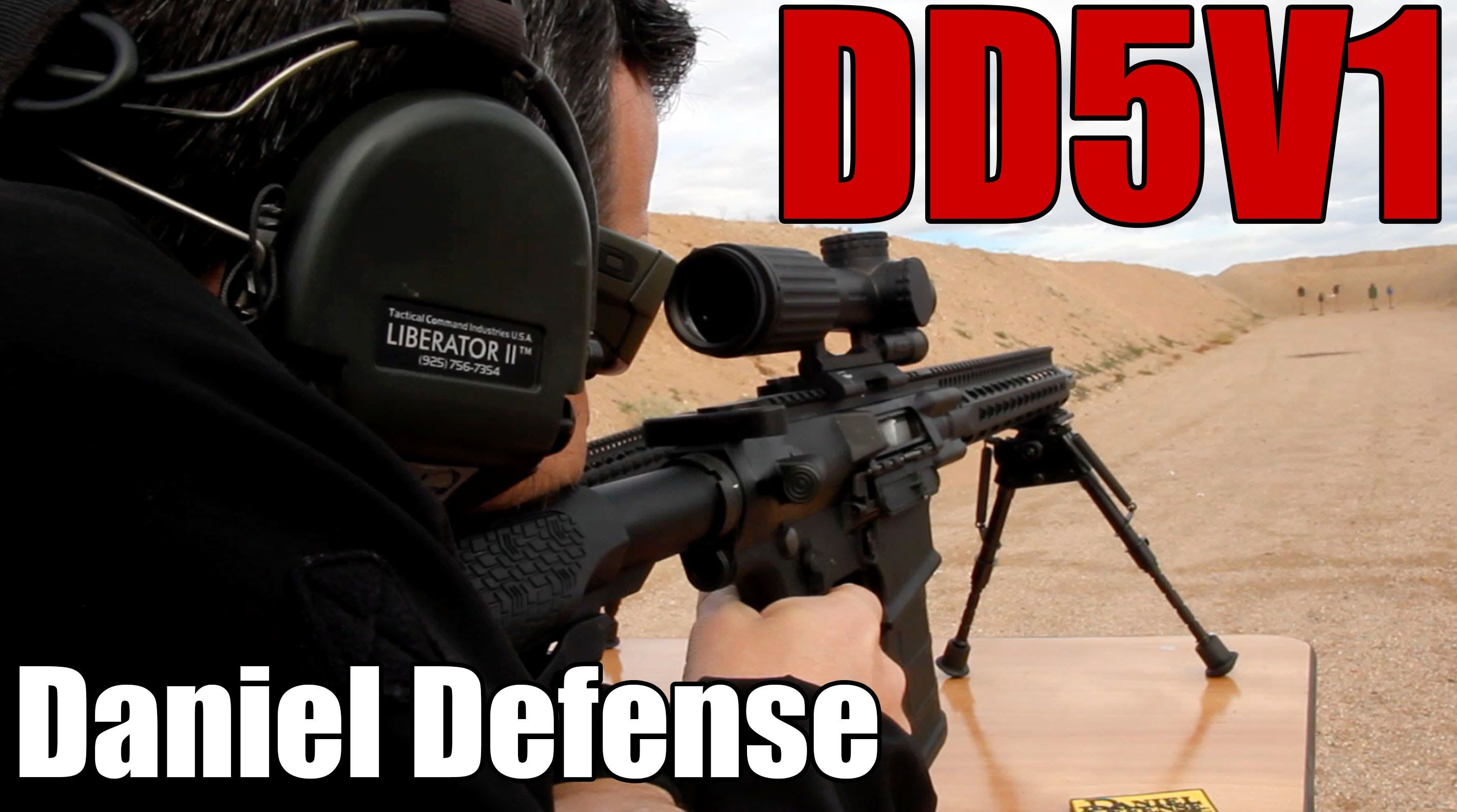 "The DD5V1 | Daniel Defense | The new ""all-around"" DMR"
