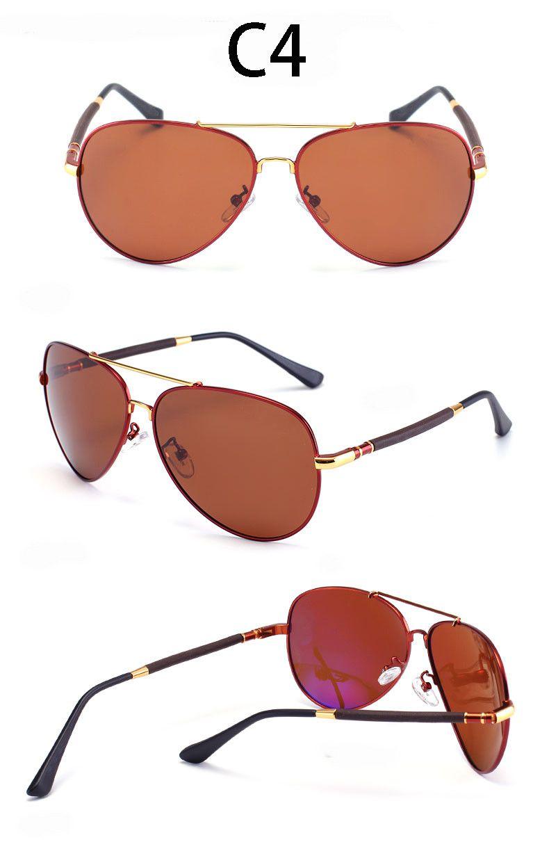 Aliexpress.com : Buy Vintage HD Polarized Oversized Sunglasses Men ...