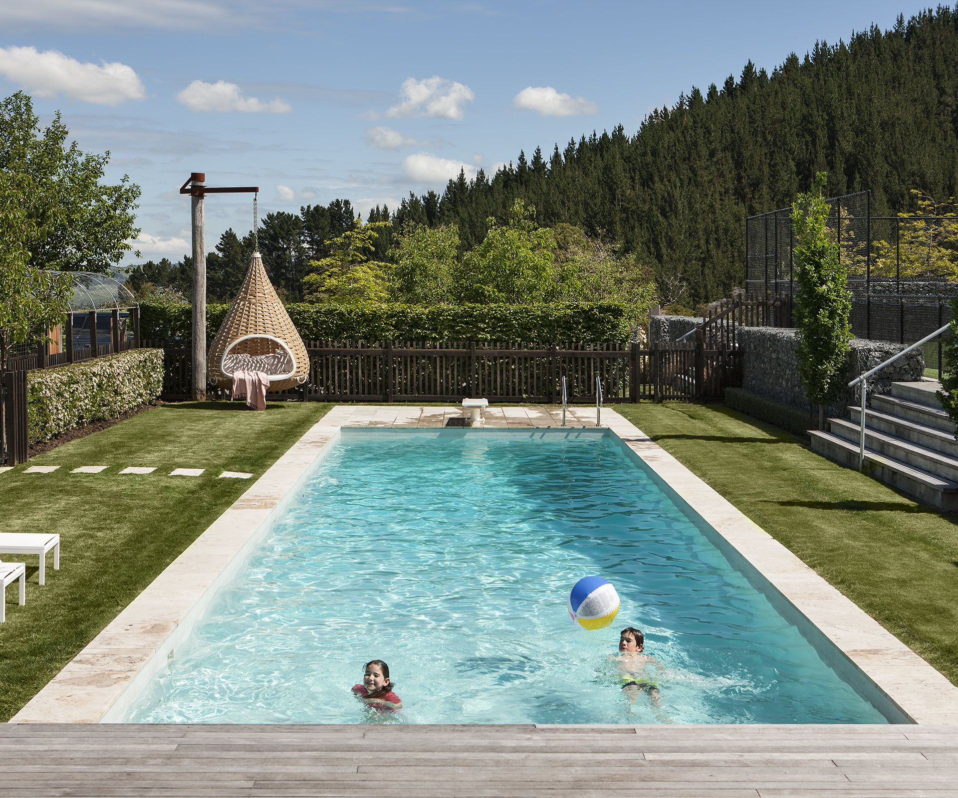 As summer strikes we ve uncovered four stylish ways of for Pool design auckland