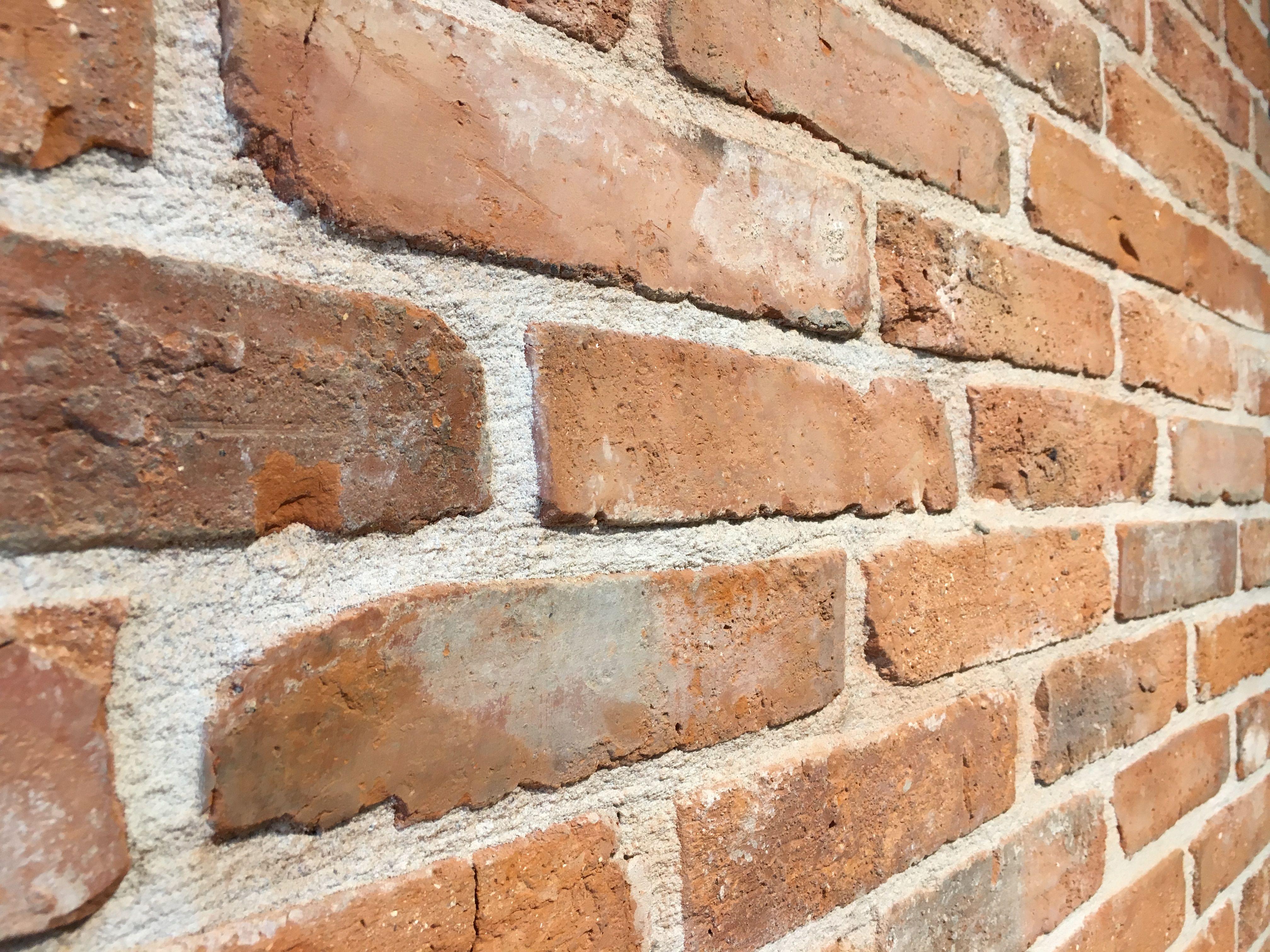 Steenstrips Baksteen Buiten : Vintage cement steenstrips gezaagd van echte oude baksteen