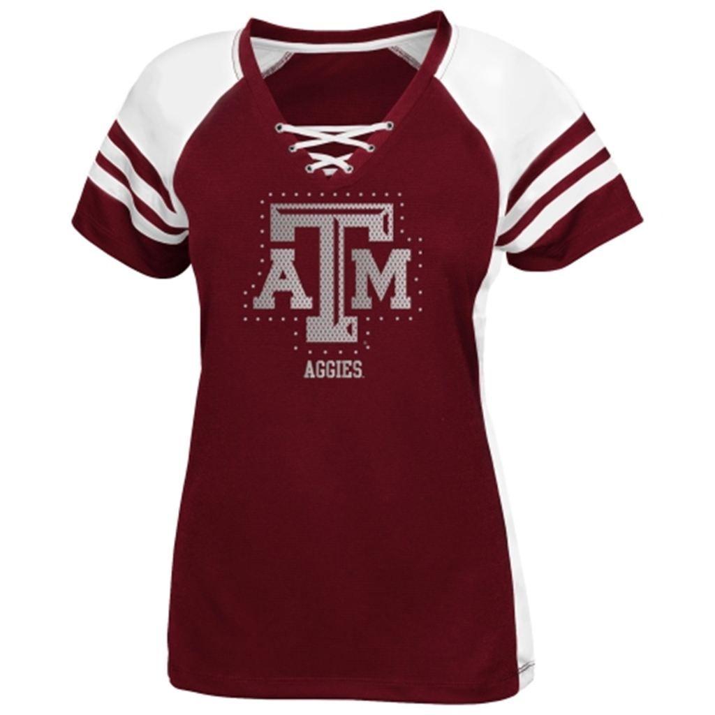 48f588c9 Texas A&M Aggies Majestic Women's Final Quarter Lace Up Jersey ...