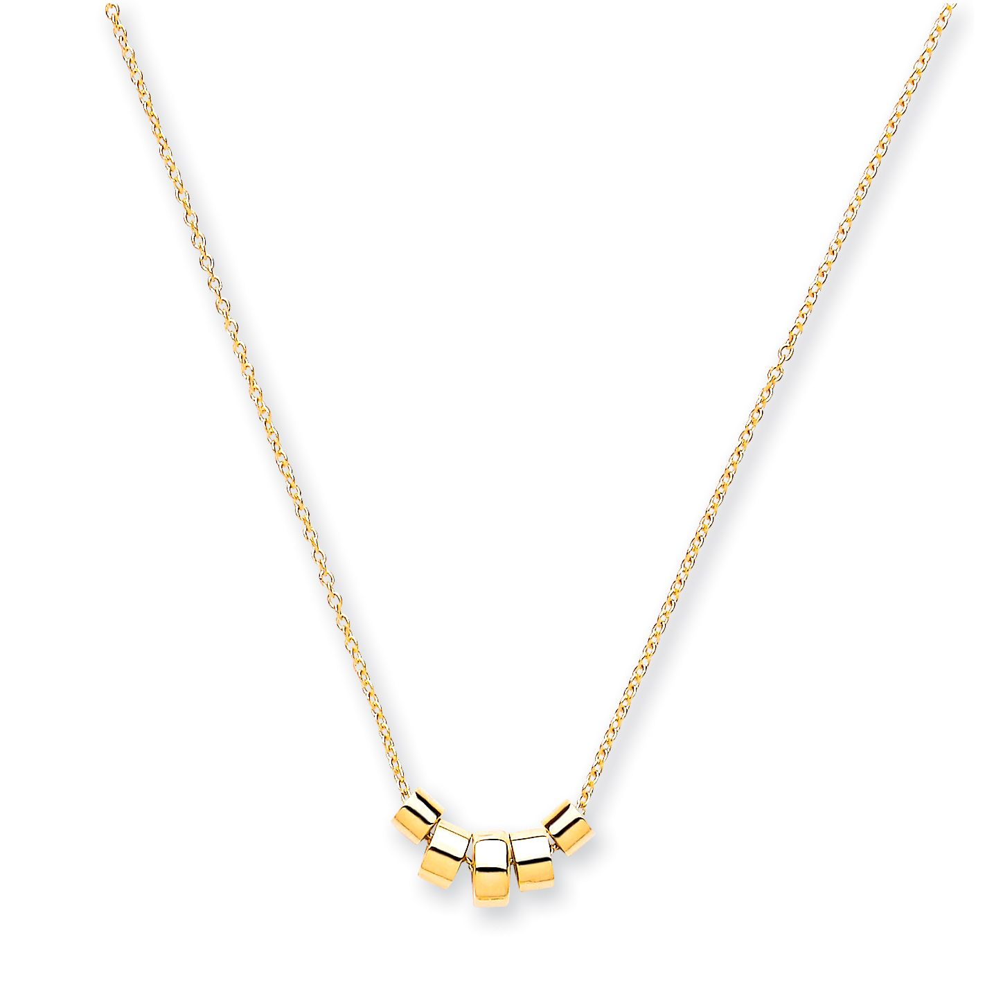9ct Gold Cross And Chain