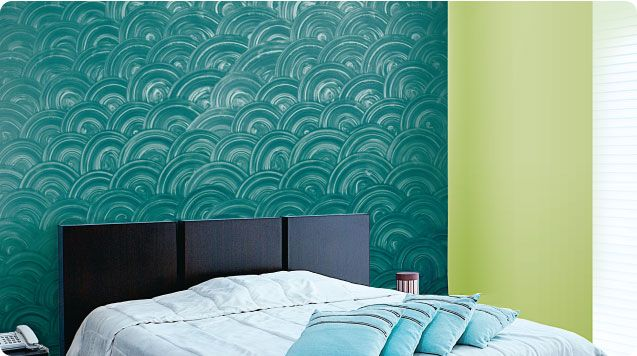 Royale Play Metallic Disc Wall Texture Design Asian Paint