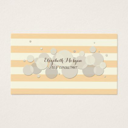 Elegant modern professional elegant circlesstripes business card elegant modern professional elegant circlesstripes business card makeup artistsbusiness colourmoves