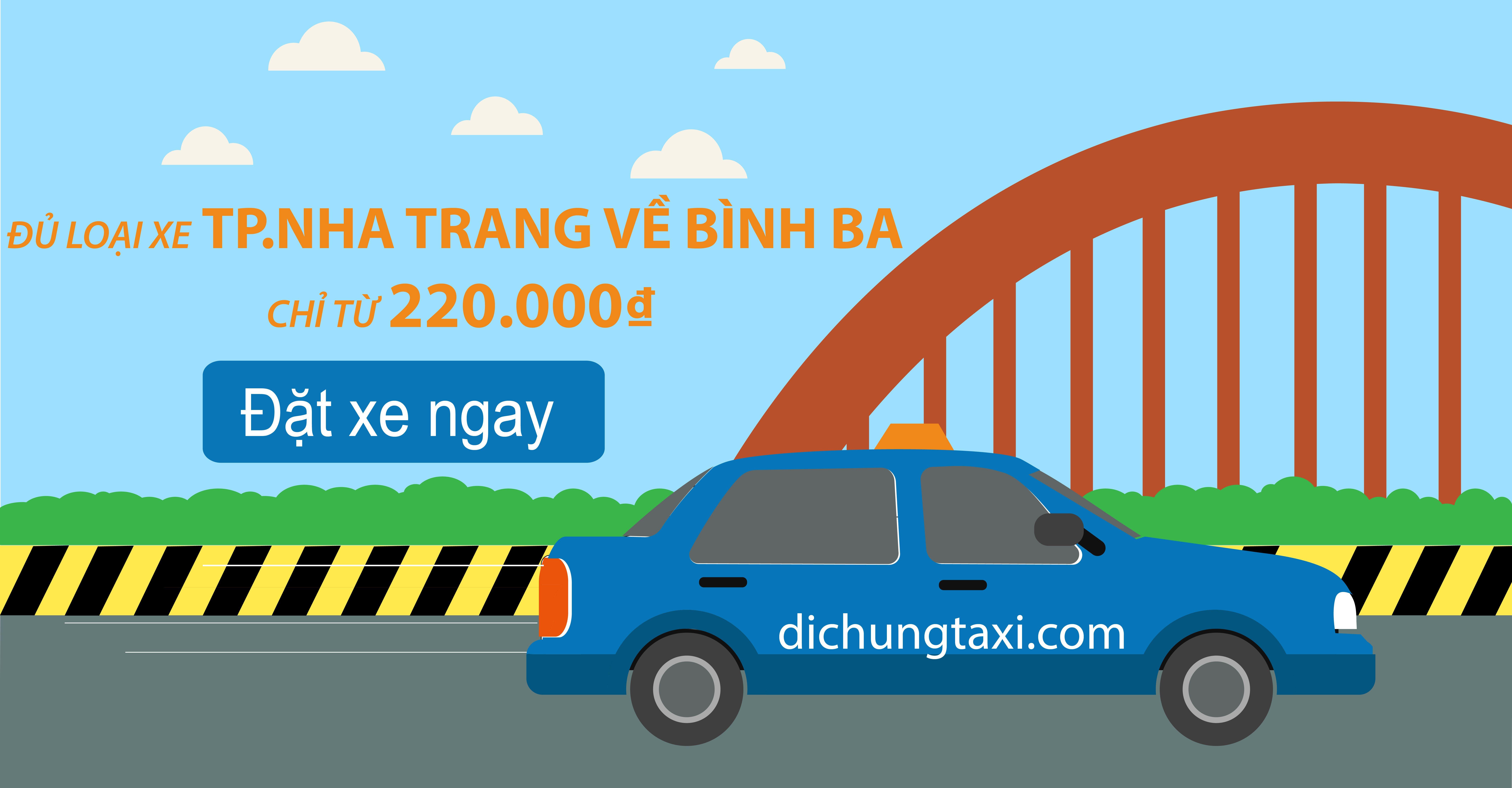 Taxi Cam Ranh Nha Trang đi Bình Ba