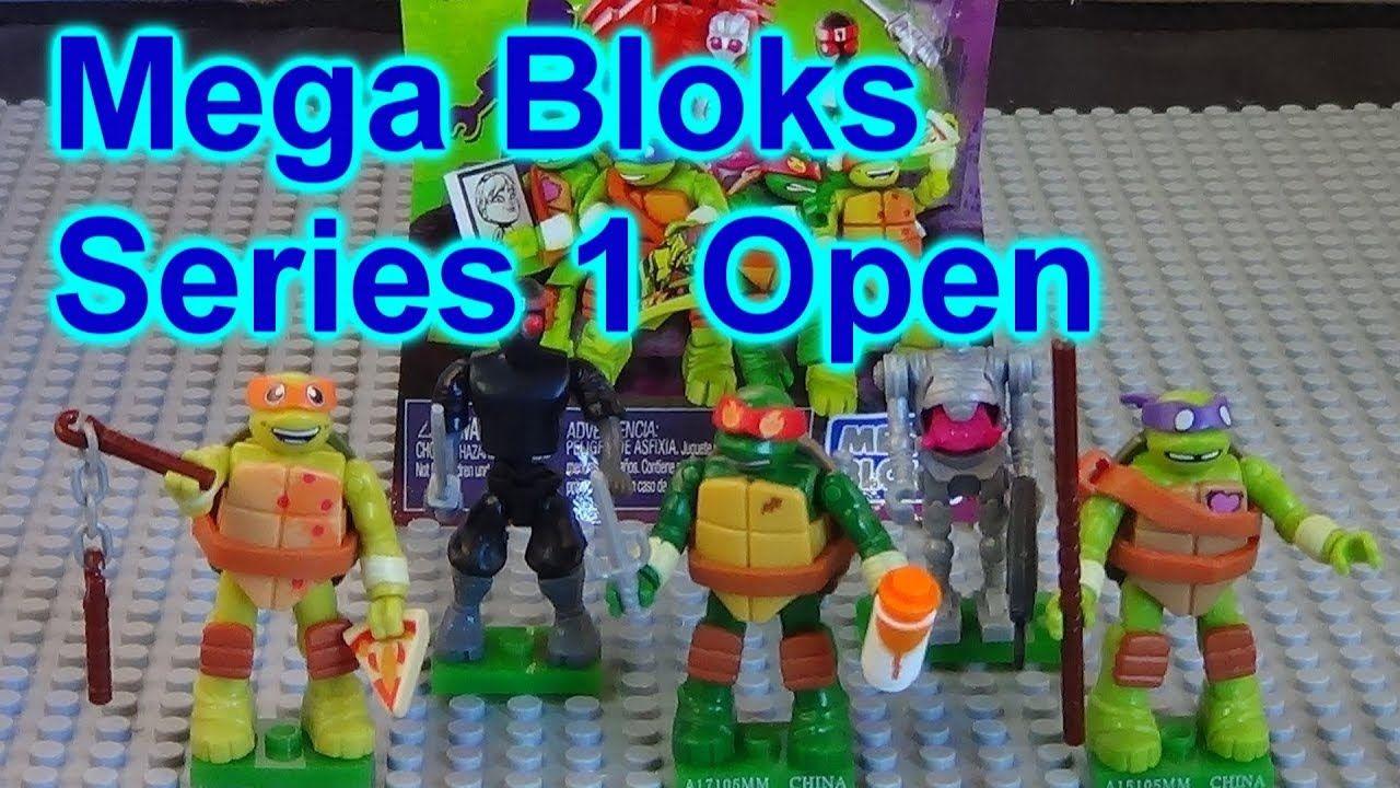 Mega Bloks Teenage Mutant Ninja Turtles Blind Packs Series