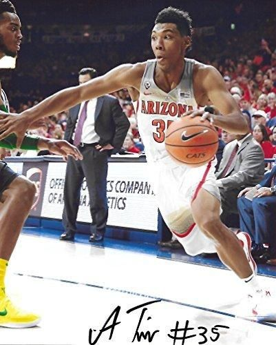 Allonzo Trier: Allonzo Trier, Arizona Wildcats, signed, autographed, Basketball 8X10 photo - COA and P...
