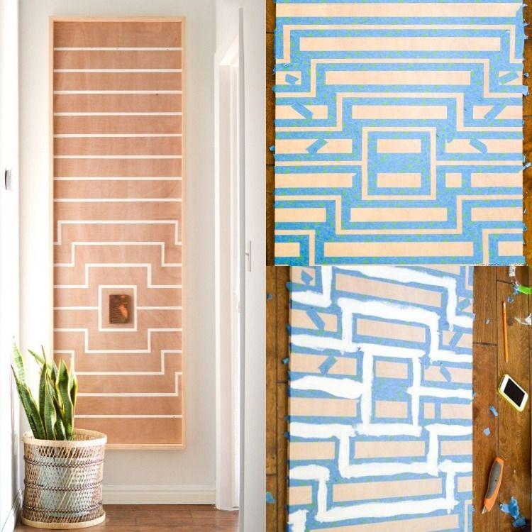Bilder selbst gestalten - 14 DIY künstlerische Wanddeko Ideen