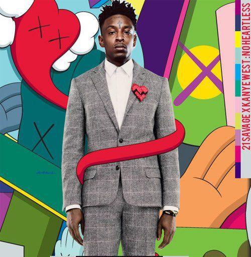 Kanye West 21 Savage No Heartless Kanye West 808s Heartbreak Kanye West Yeezus