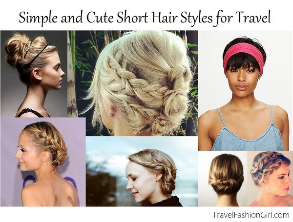 Simple And Cute Short Hair Styles For Travel Cute Hairstyles For Short Hair Hair Styles Short Hair Styles