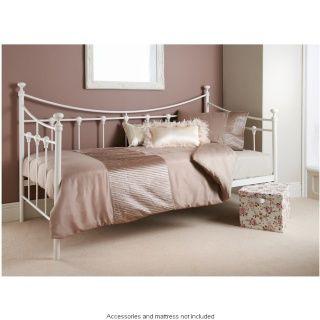 White Frame Day Bed Diy Bed Frame Plans Bedroom Furniture Inspiration Bedroom Diy