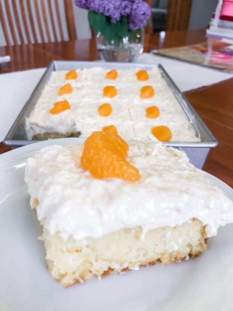 Moms best pineapple mandarin cake pig pickin cake