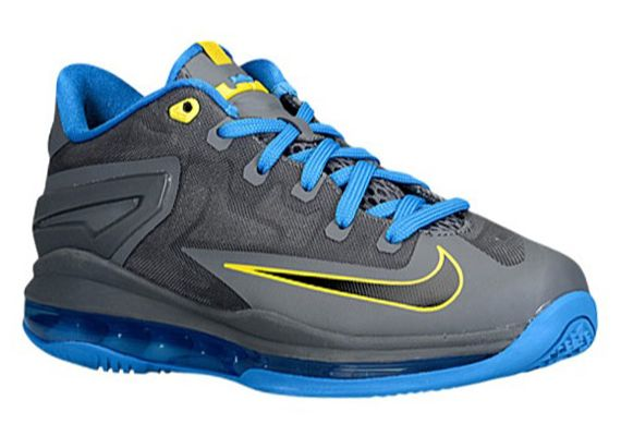 A new look LeBron XI Low is now available for the young LeBron fans.
