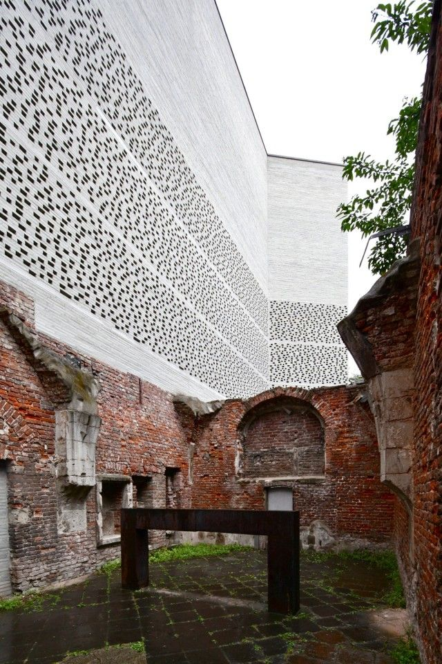 Kolumba museum, Peter Zumthor Architecture Pinterest