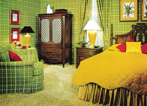Camera Da Letto Vintage Anni 70 : S bedroom retro atomic modern home designs