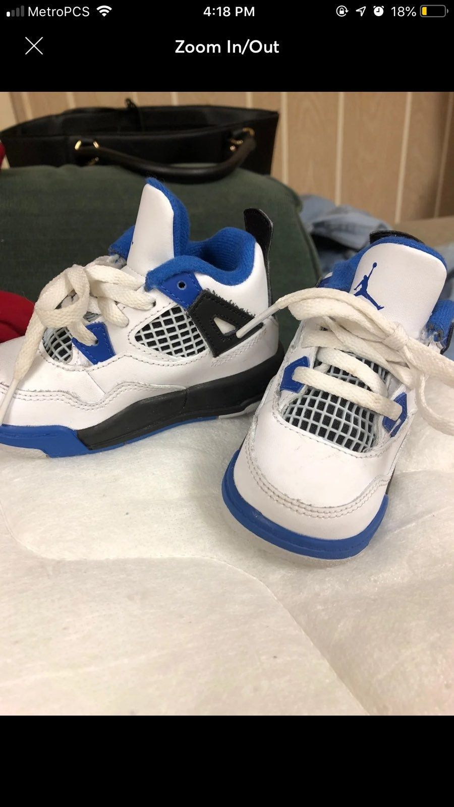 SHOES WILL BE CLEANED BEFORE SHIPPING Air jordan shoes