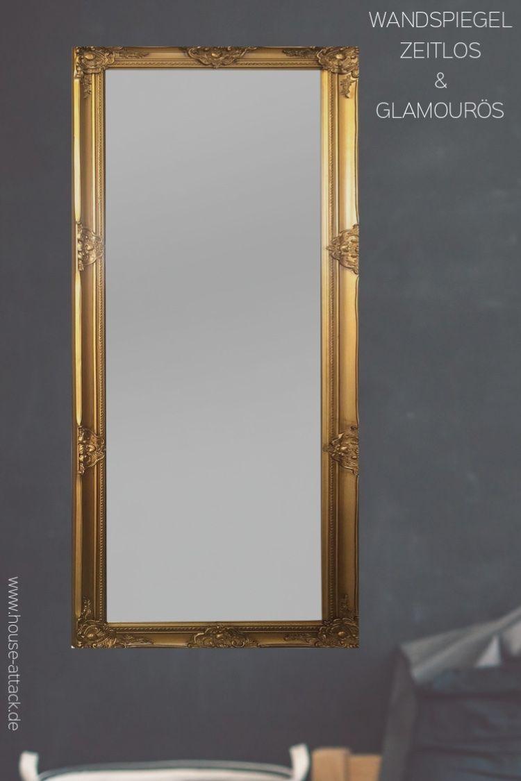 Wandspiegel Barock gold  Barock spiegel gold, Wandspiegel, Spiegel