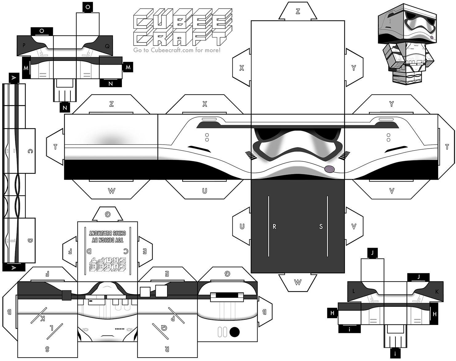 Stormtrooper The Force Awakens Cubeecraft