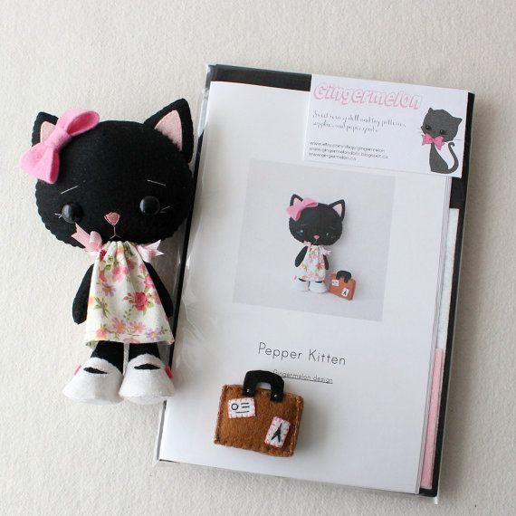 Pimienta gatito patrón Kit
