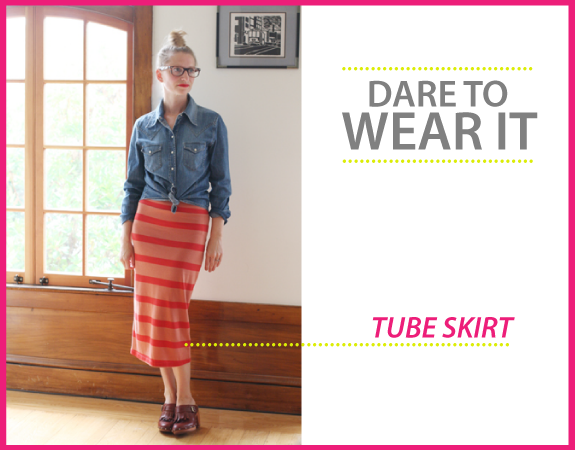 would you wear a tube skirt?