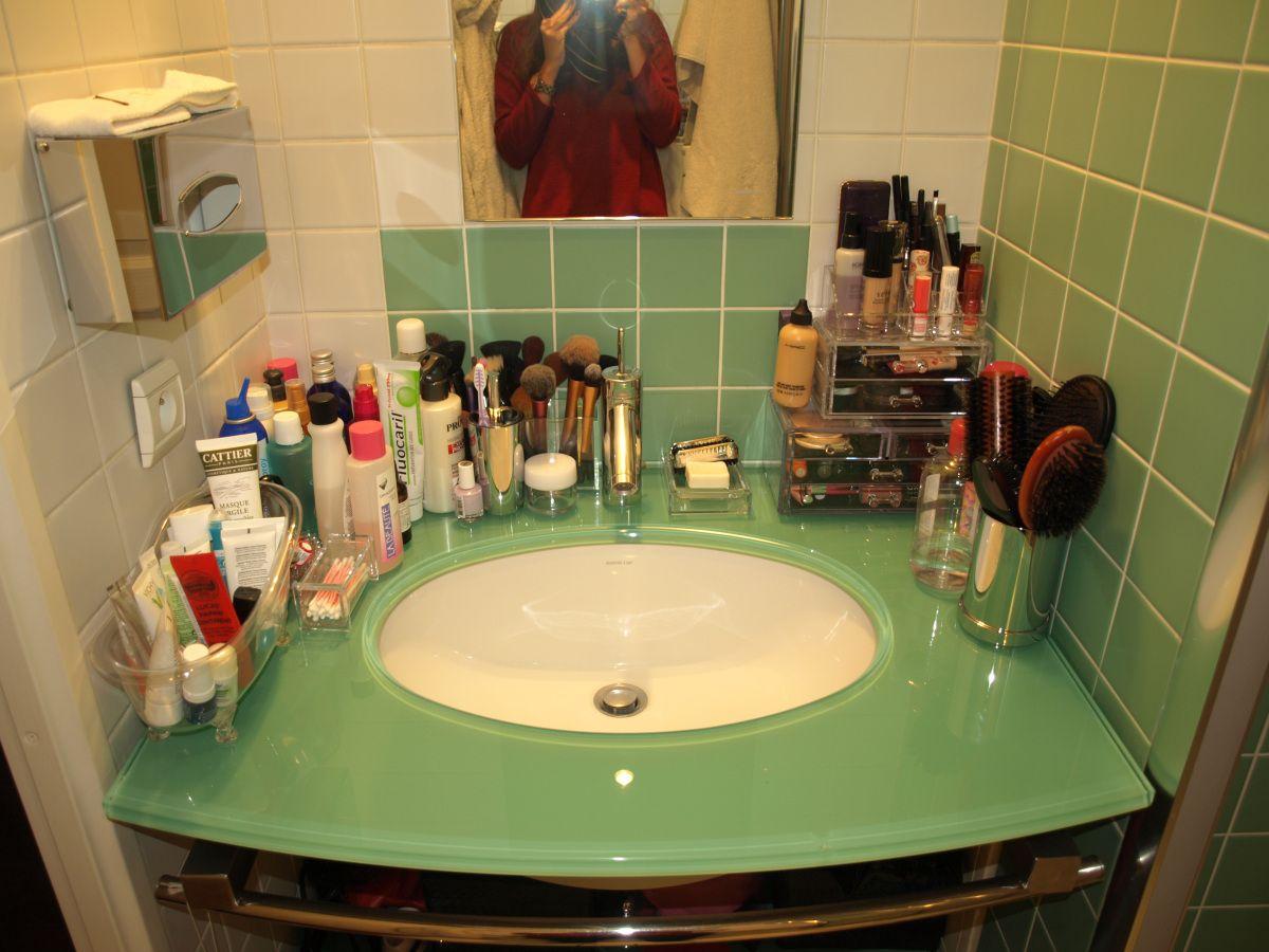 Astuce Rangement Maquillage Salle De Bain ~ rangement makeup quelques atuces rangements pour petits espaces