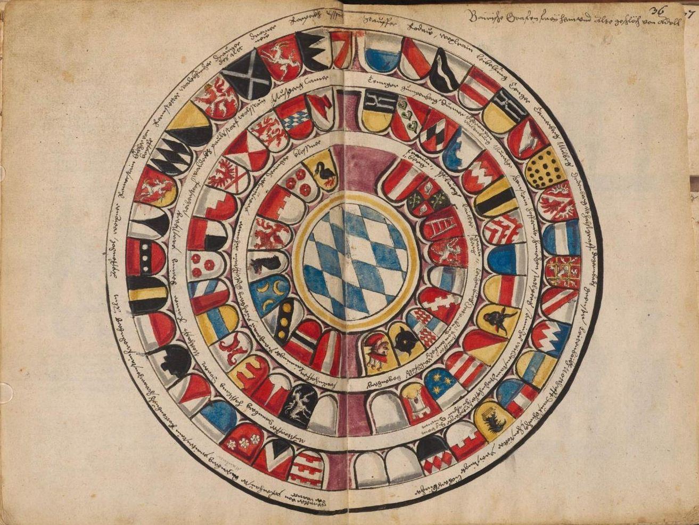 Hofkleiderbuch Abbildung und Beschreibung der Hof-Livreen) des Herzogs Wilhelm IV. und Albrecht+V. 1508-1551