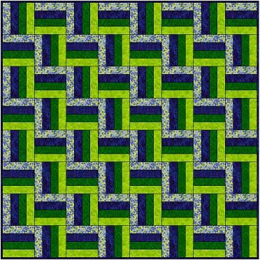 Rail Fence segments should measure 6 1/2 inches, and your block ... : easy 12 inch quilt block patterns - Adamdwight.com