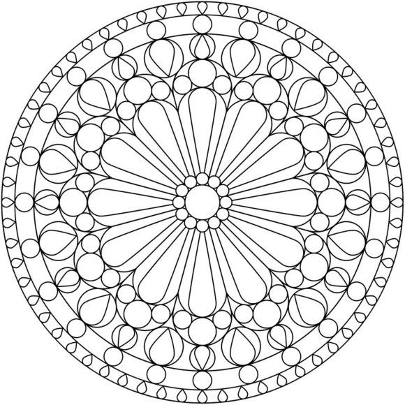 flower mandala coloring pages mandala coloring pages of - Simple Mandala Coloring Pages