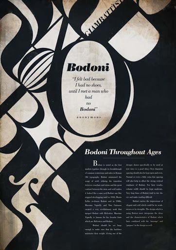 Love Bodoni.