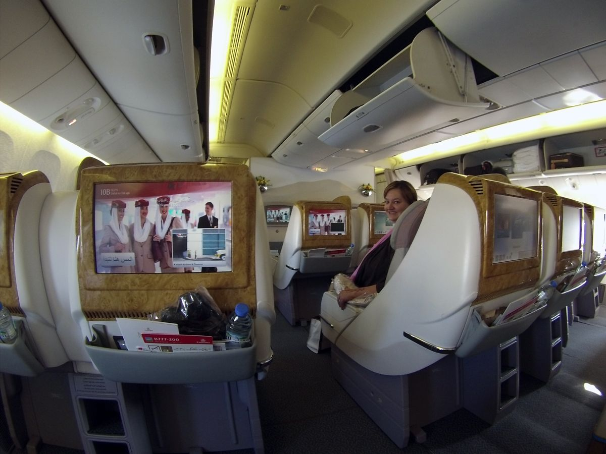 Flight Review Chicago to Dubai on Emirates Business Class