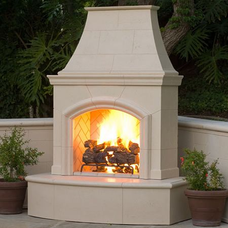 Phoenix Outdoor Fireplace kit approx. $6000 with options | Decks ...