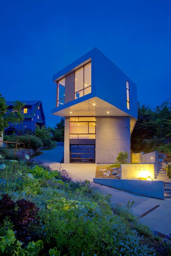 Modern Urban House : modern, urban, house, Modern, House, Designs, Architecture,, Geometric, Architecture, Design