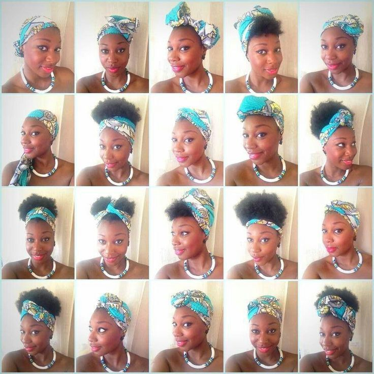 How To Easy Scarf In Your Hair How To Do Easy Natural Hair Styles Hair Wraps Scarf Hairstyles