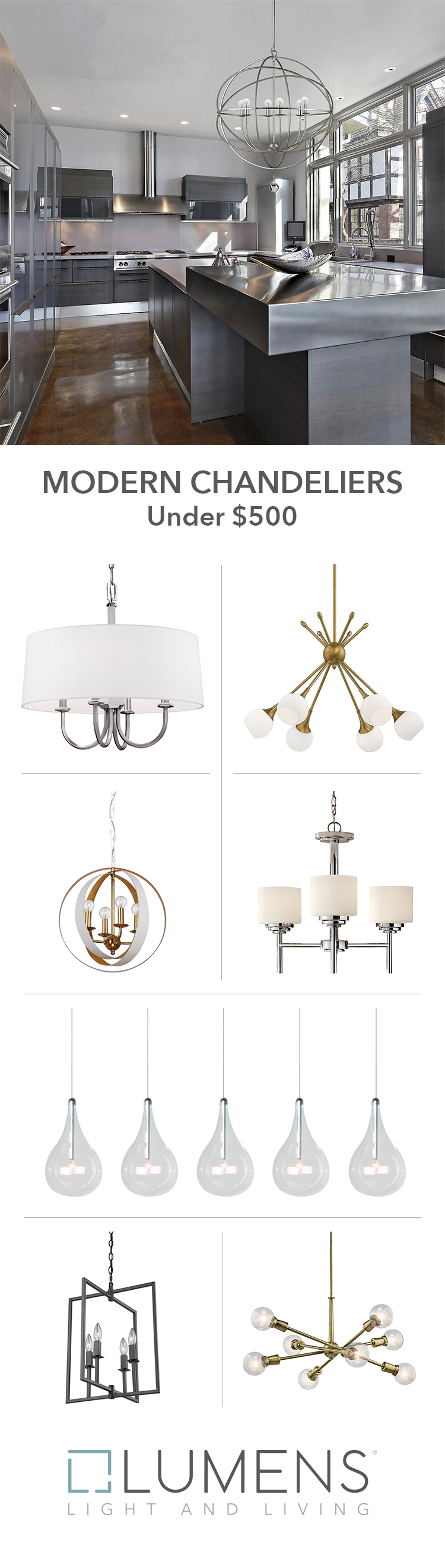 It S Typically The Showpiece Of Any Space The Chandelier It Can Accent Or Even Anchor The Design Of A Room Modern Chandelier Modern Dining Room House Design