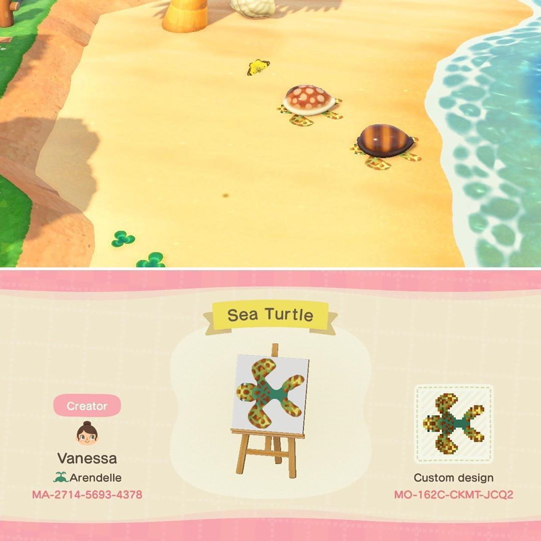 Seashell Path In 2020 Animal Crossing Shell Animals Sea Shells