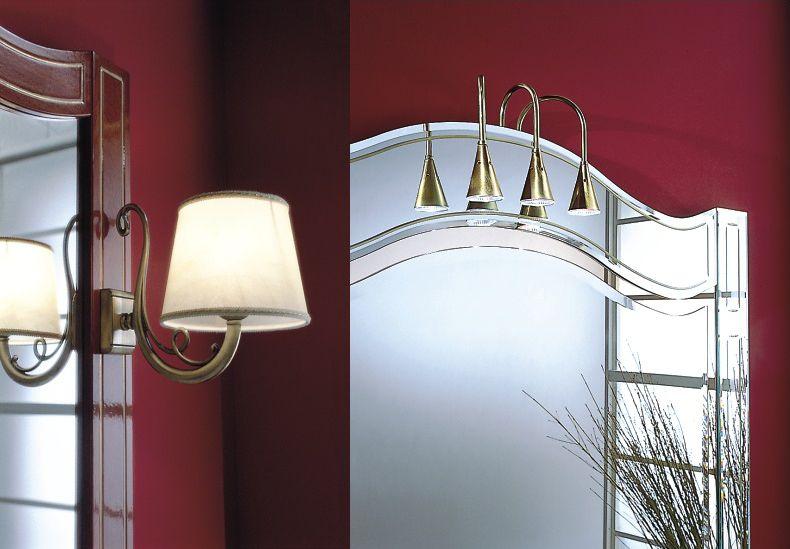 Selection Of Bathroom Light Fixtures: Elegant Lights Selection For Aquos's Bath Vanity / Athos