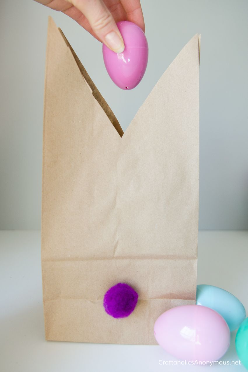 Easter bunny gift bags with free printable tags easter free easter bunny gift bags with free printable tags easter free printable tags and printable tags negle Image collections
