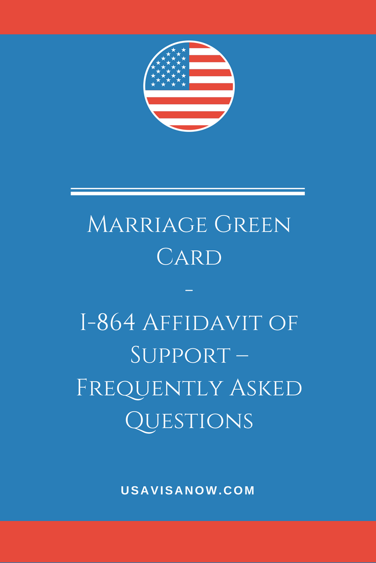 Uscis Form I Affidavit Of Support  Frequently Asked Questions