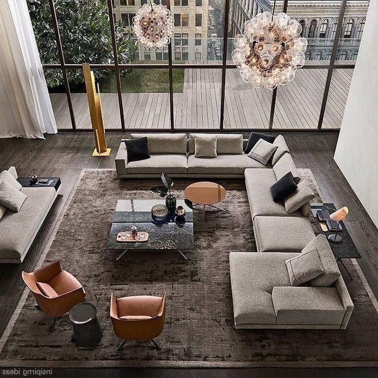 72 Amazing Modern Apartment Living Room Decorating Ideas Modern Apartment Living Room Living Room Decor Apartment Living Room Design Decor