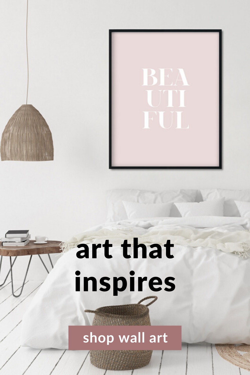Blush Pink Wall Art Printable Pastel Wall Print Beautiful Wall Art Girls Nursery Pictures Girls Room Poster Quotes For Bedroom In 2020 Beautiful Wall Art Pink Wall Art Room Posters