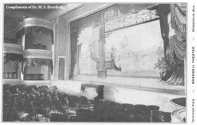 Braswell Theater in Demopolis